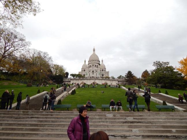 Basílica de Sacré Cœur - Escadaria