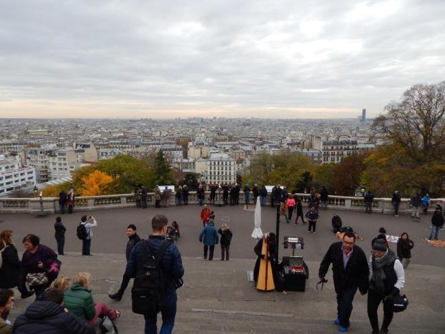 Vista da cidade a partir da basílica