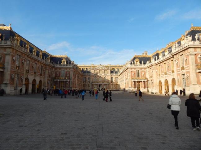 Château de Versailles - Vista interna