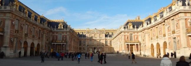 Château de Versailles – Vista interna