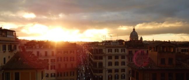 Piazza di Spagna - Vista de cima
