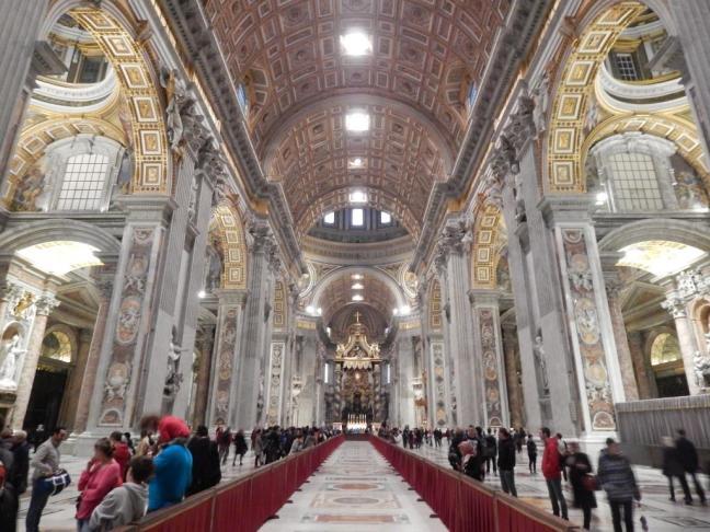 Entrada da Basília de São Pedro - Vaticano