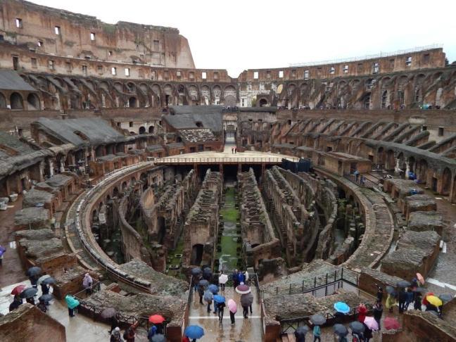 Coliseu - Vista interna