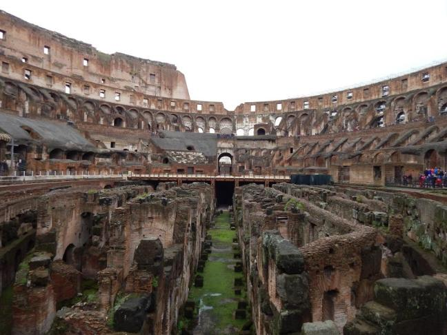 Coliseu - Vista interna parte inferior