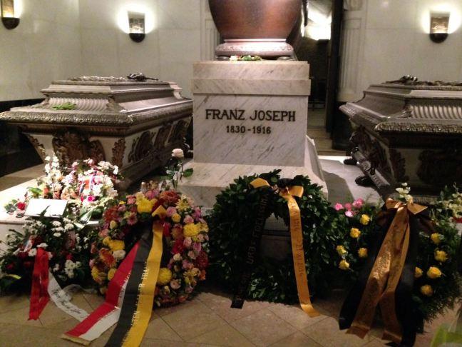 Túmulo da Imperatriz Elisabeth, Sissi, Imperador Francisco José, Rodolfo, da Áustria