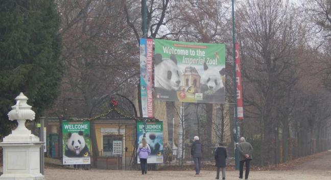 Palácio de Schonbrunn - Entrada para seu Zoológico