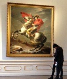 Napoleão Bonaparte por Jacques Louis David
