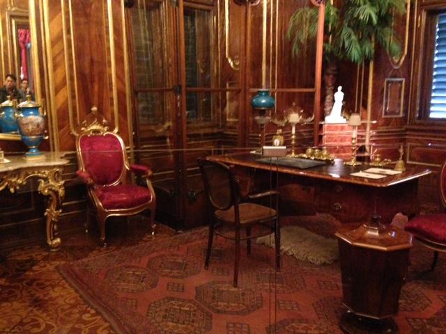 Palácio de Schonbrunn - Gabinete de audiências do Imperador Francisco José (Franz Joseph)
