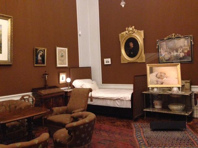 Palácio de Schonbrunn - Quarto do Imperador Francisco José (Franz Joseph)