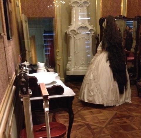 Palácio de Schonbrunn - Quarto de vestir da Imperatriz Sissi