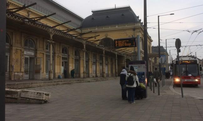 Estação Keleti - Budapeste-Hungria