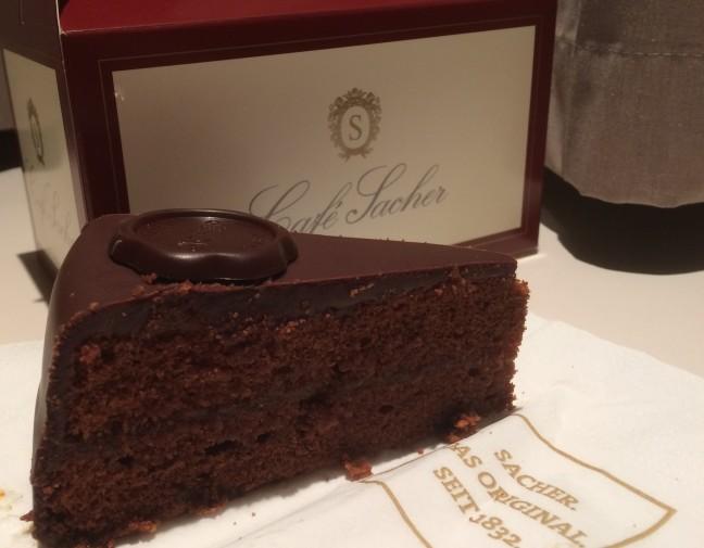 Torta Sacher do Café Sacher - Hotel Sacher