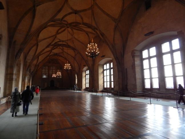 Castelo de Praga - antigas instalações
