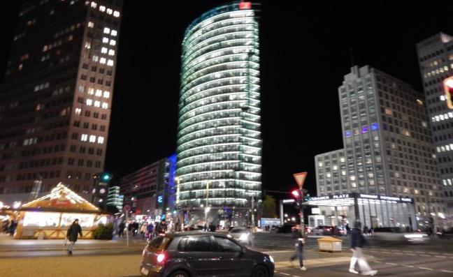Potsdamer Platz, Sony Center - Berlim