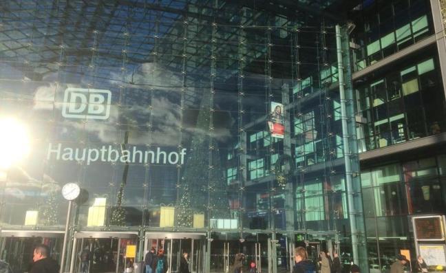 Hauptbanhof (estação principal) de Berlim, Alemanha