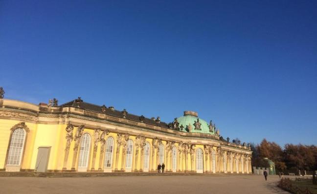 Palácio Sanssouci,Potsdam