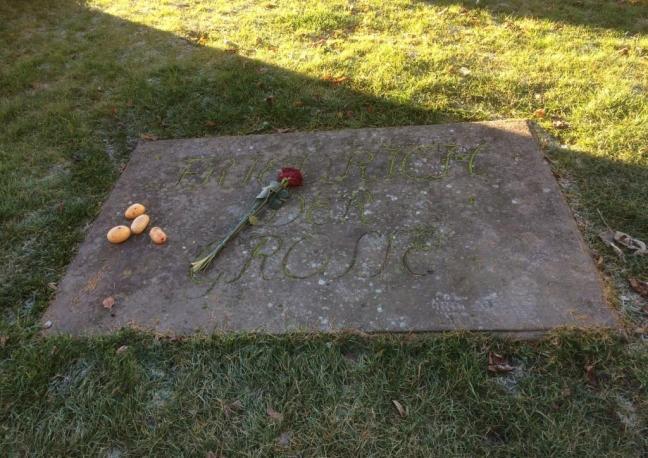 A modesta sepultura de Frederico, o Grande