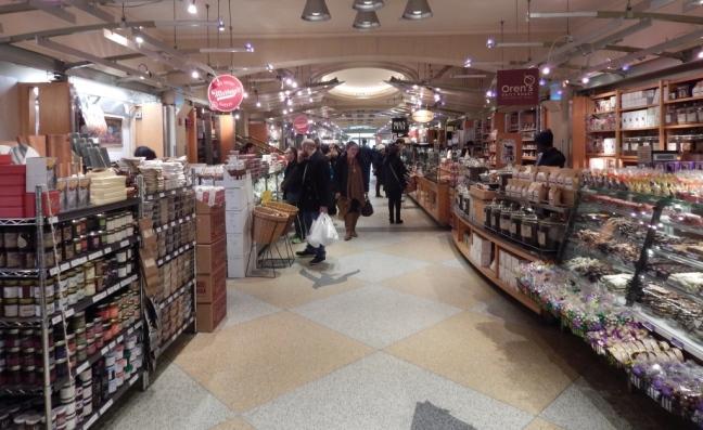 Mercado na parte inferior do Central Station